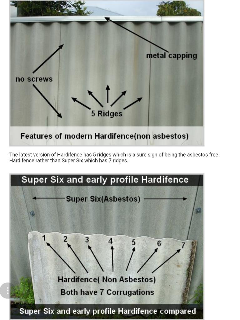 Super six vs hardifence